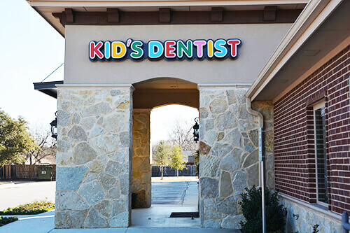 Front logo - Pediatric Dentist in Grand Prairie, TX