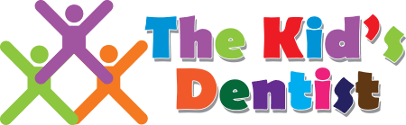 Logo for The Kids Dentist, Dr. Joe Anwah.