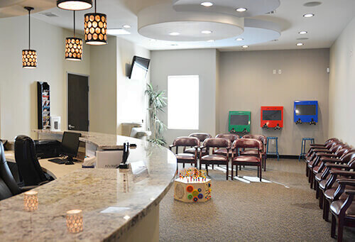 Waiting Room - Pediatric Dentist in Grand Prairie, TX